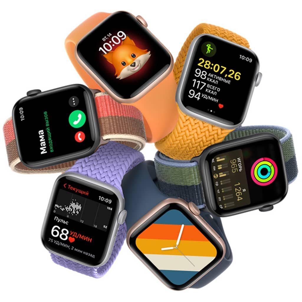 Изображение Apple Watch SE расцветки