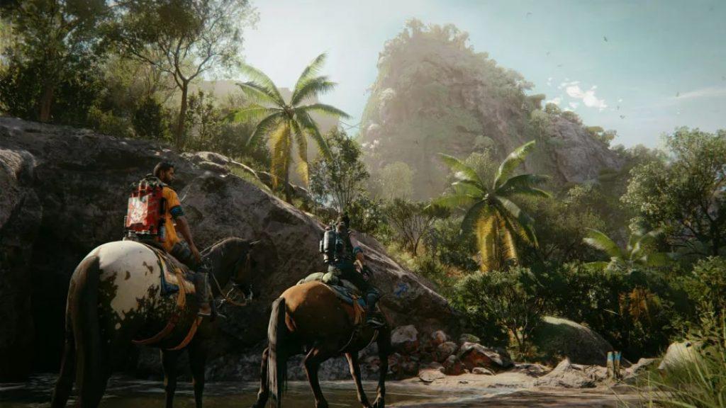 Изображение лошади и горы Far Cry 6 обзор игры