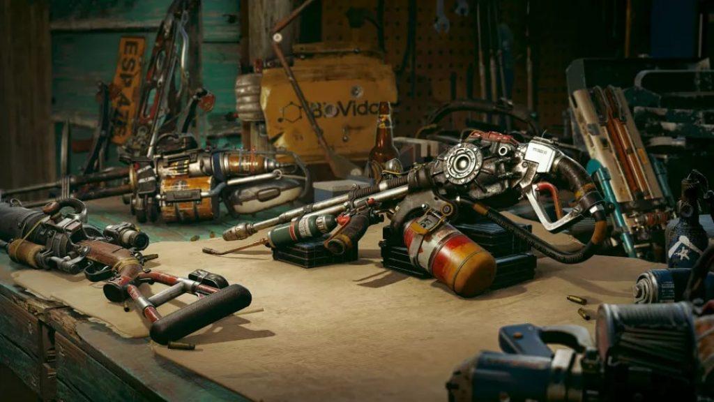Изображение весртак с оружием Far Cry 6 обзор игры